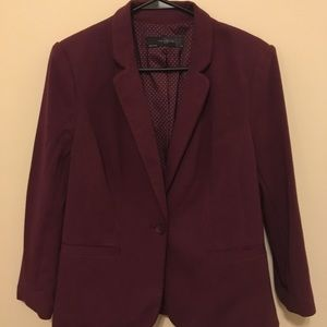 The Limited Plum Colored Blazer